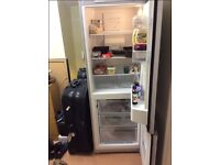 BOSCH FRIDGE FREEZER STAINLESS ONLY £120 AVAIL NOW FOR COLLECTION
