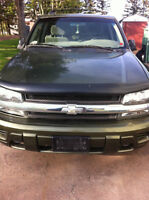 2002 Chevy Trailblazer parts