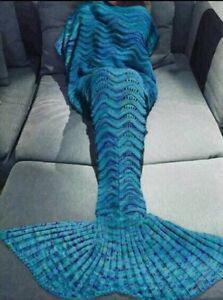 Mermaid Tail Blankets! (And shark blankets) kids & adult sizes Edmonton Edmonton Area image 5