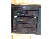 Pioneer stereo with 100w speakers