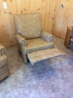 Two recliners