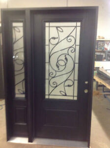 entry door| entrance door| front door| steel & fiberglass