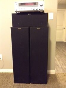 Nuance speakers with Kenwood amp