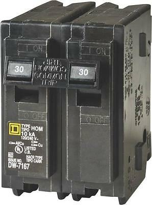 Fast Shipping New Square D Hom230 Two-pole Circuit Breaker Hom230 30amp