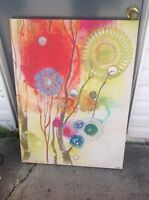 Large colourful picture from Homesense