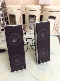 Logitech laptop speakers £6