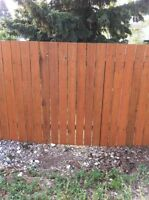 Fencing - Tear Downs, Barbwire, Wood, etc. - Competitive Prices!