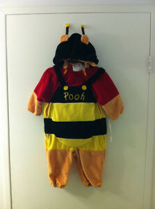 New Disney Honey Bee Pooh Bear Costume Infant 6-12 mos