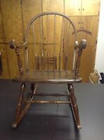 Beautiful antique rocking chair