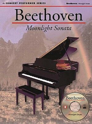 Beethoven: Moonlight Sonata 1st Movement Sheet Music Concert Performer -