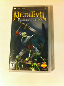 MediEvil Resurrection - Sony PSP, case only