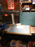 Tool and Die Maker tools: Surface Plate and Square