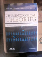 Criminological Theories:Introduction, Evaluation,and Application