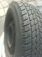 Set of 4 Winter tires 215/70R 15