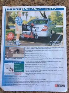 (New never used) Sonic Pride scooter and power hitch lift $1000 Kingston Kingston Area image 7