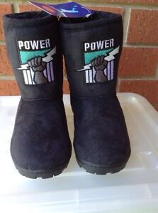 Port Adelaide kids size11 boots. New Xmas Gift. Copper Coast Preview