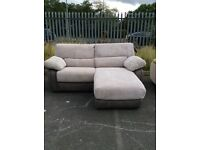 Harveys large two seater reclining chaise Ex-display model