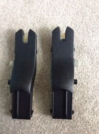 Adapters for silvercross car seat