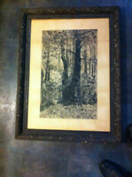 19th Century Charcoal Drawing by Saint John NB Artist - Framed