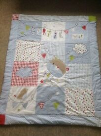 Bertie Bear cot/bed set