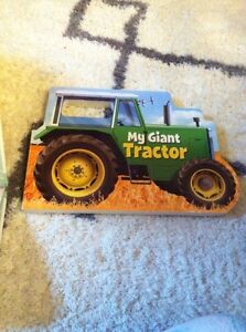 My giant tractor book