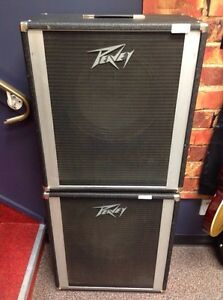 Two Used Peavey Bass Amp Cabinets $100 for Both