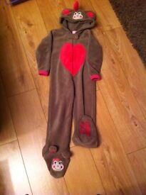 Little Monkey onesie - (age 3-4)