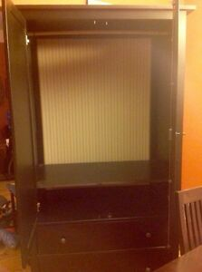 Coffee colour, wood armoire Kitchener / Waterloo Kitchener Area image 3