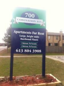 Large BrightTwo Bedroom Apartments Available