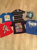 Size 6 boys assorted shirts