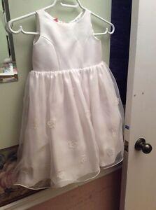 Girls beautiful white dress