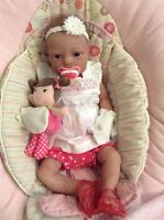 Full Body Solid Silicone Reborn Doll - Girl - REDUCED FOR XMAS!!