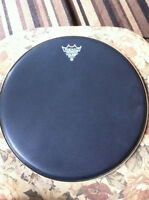 "14 inch black remo drum skin "" brand new"""