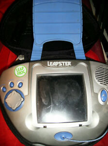 Leapster Learning Game System with Case $25.oo
