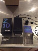 Blackberry Z10 like new Rogers not in a contract