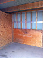 11' x 11' Storage units available for rent in Edmonton