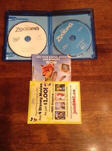 Zootopia- Blu Ray & DVD!  Watched once! London Ontario image 2
