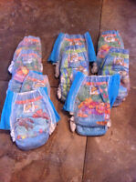 Swimmer disposable diapers