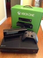 Xbox one kinect plus 7 games