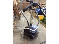 Steam clothes cleaner and iron