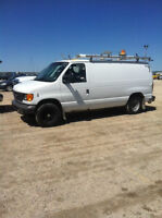 2007 Ford E-150 Commercial Van - Saftied only $7500