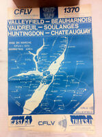 1971 poster - CFLV 1370 radio Valleyfield