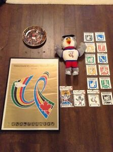 1983 World Universiade Games Collection Edmonton Edmonton Area image 1