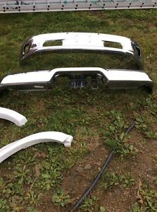2015 Dodge Ram 1500 front and rear bumpers