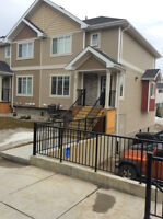 JUNE 1st-End Unit, Huge Double att. Garage, Central Air and MORE