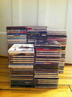 140 CDs pour/for 100$