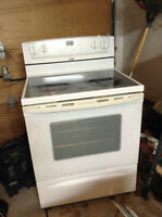 Whirlpool Glass Top Oven
