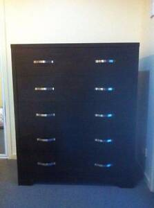 Beautiful Montana Tallboy 5 Drawers Chocolate Fig Tree Pocket Brisbane North West Preview