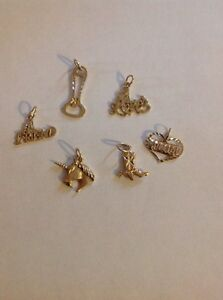 10kt charms