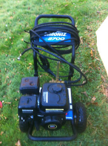 SIMONIZ 2700 POWER WASHER 6.5 BLACK HONDA ENGINE ONLY